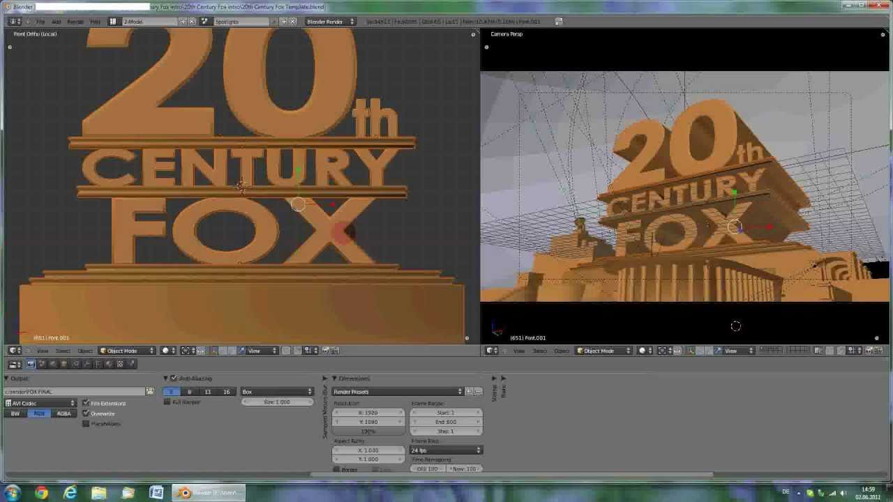 Tutorial 20th Century Fox Intro Hd Doovi