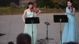 上谷戸ホタルの夕べコンサート 演奏:アンサンブル・ファインストーリア...