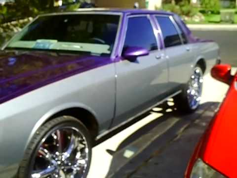 1989 box chevy caprice classic on 24's