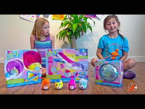 Zhu Zhu Pets Toy Hunt Shopping Trip, Unboxing and Playtime