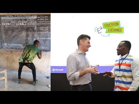 How photos of a teacher in Ghana took him all the way to Microsoft