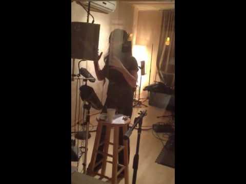 Viva Doll Recording LIVE in Studio