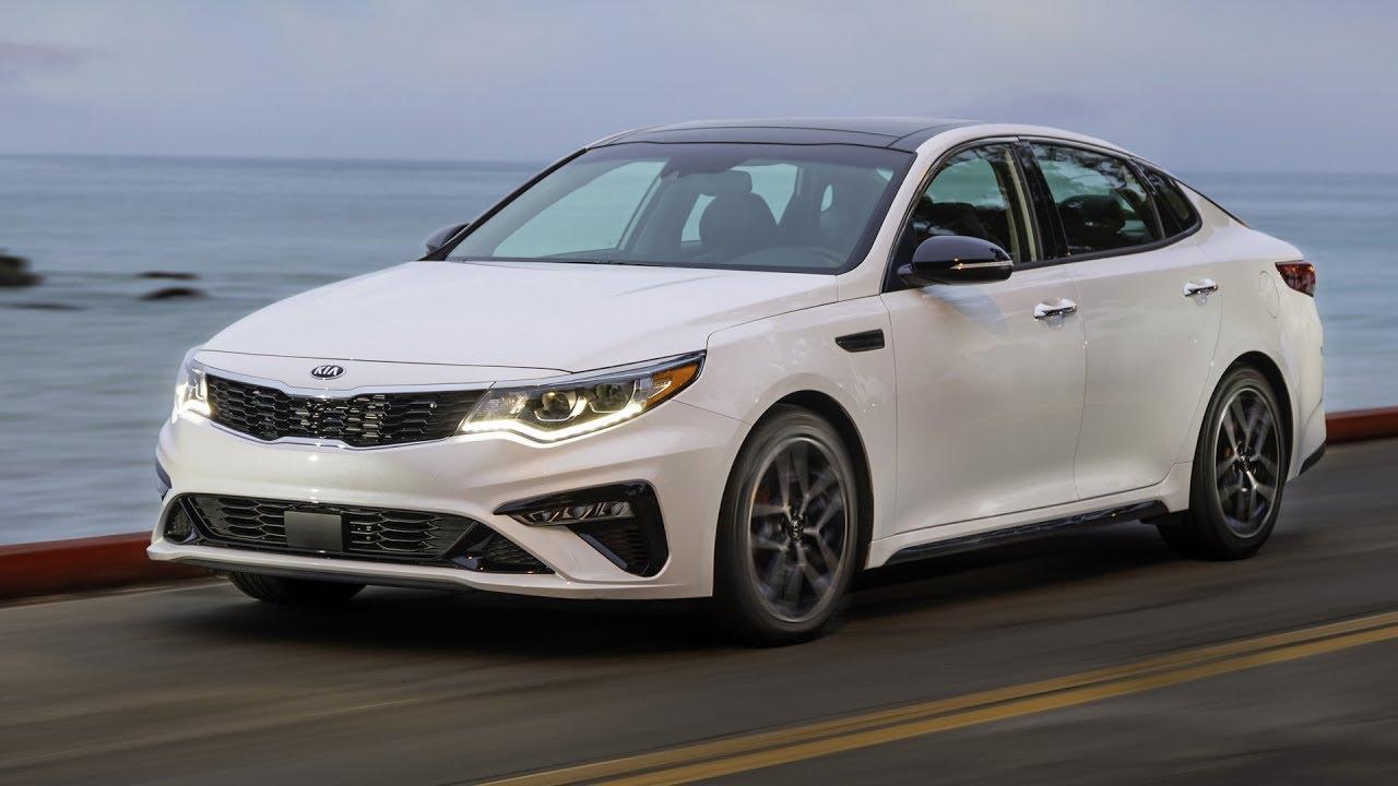 2019 Kia Optima SX T GDI | Snow White Pearl | Driving, Interior, Exterior  (US Spec)