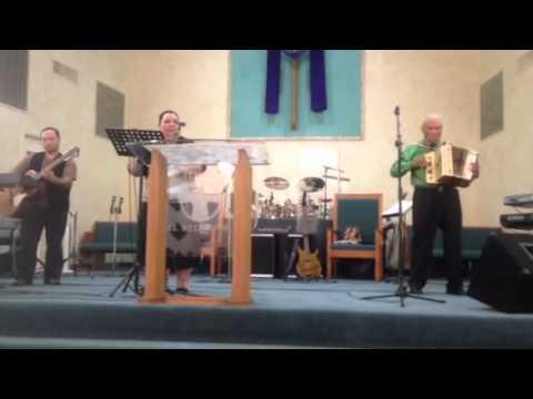 """""""El Shaddai"""" (Instrumental) Joe Kino Templo El Redentor Dallas, Texas"""