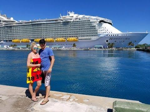 Royal Caribbean 2017 Cruise! || 10 Year Anniversary || Part One