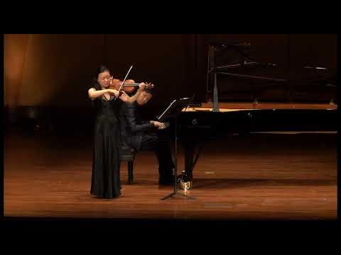 CSUF Music Faculty/Guest Artist Recital - Debussy Violin Sonata - Zhou Qian & Ning An