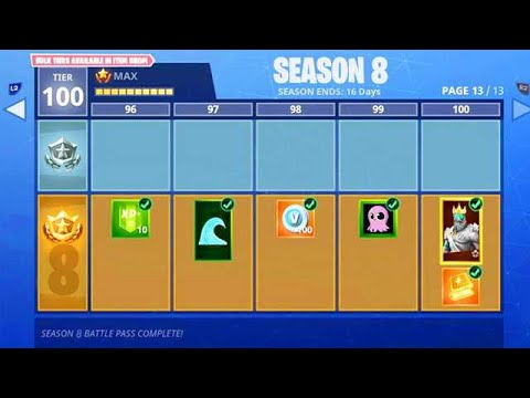 Season 8 BATTLE PASS in Fortnite!! (Fortnite Season 8)
