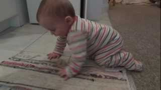 OUR BABY 7 MONTHS CRAWLING EVERYWHERE!