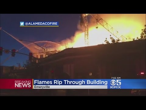 5-Alarm Fire Rips Through Oakland Building