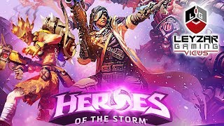 Heroes of the Storm (Gameplay) - Volskaya Foundry with Ana (HotS Ana Gameplay)