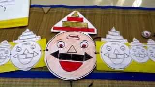 Dussehra themed craft with free printable Mask- 7 in 1 activities for toddlers and children