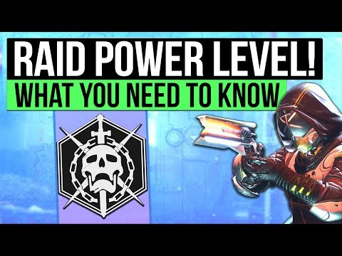 Destiny 2 | RAID POWER LEVEL REVEALED! - Power Level Requirements for Leviathan Raid Confirmed!