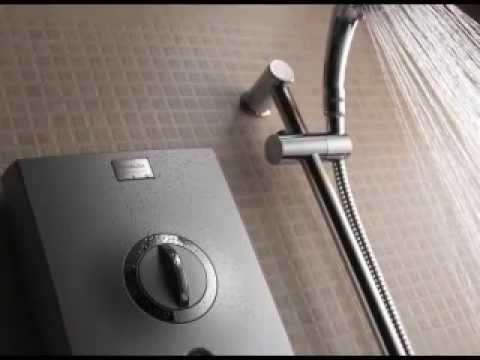 what are electric showers and how do they work youtube. Black Bedroom Furniture Sets. Home Design Ideas