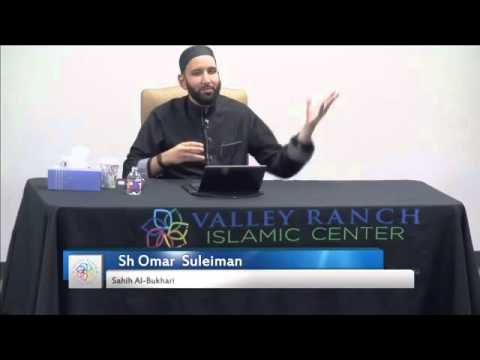 Omar Suleiman - Being Sincere to Allah SWT & to the believers | Weekly Bukhari class