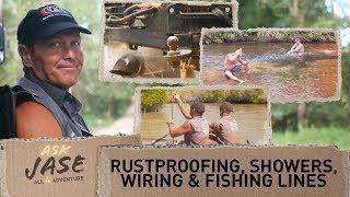 Ask Jase: Rustproofing, Showers, Wiring & Fishing Lines ► All 4 Adventure TV