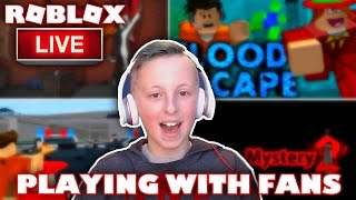 I Got Raided by GamerBoy JJM LIVE | #GamerBoyJJMRaid | Playing Roblox with Fans Live Stream