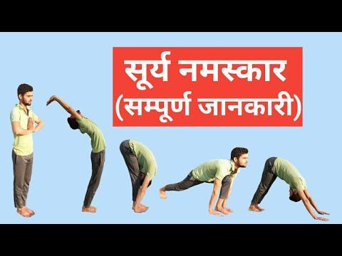 surya namaskar  सूर्य नमस्कार कैसे करें  suryanamaskar