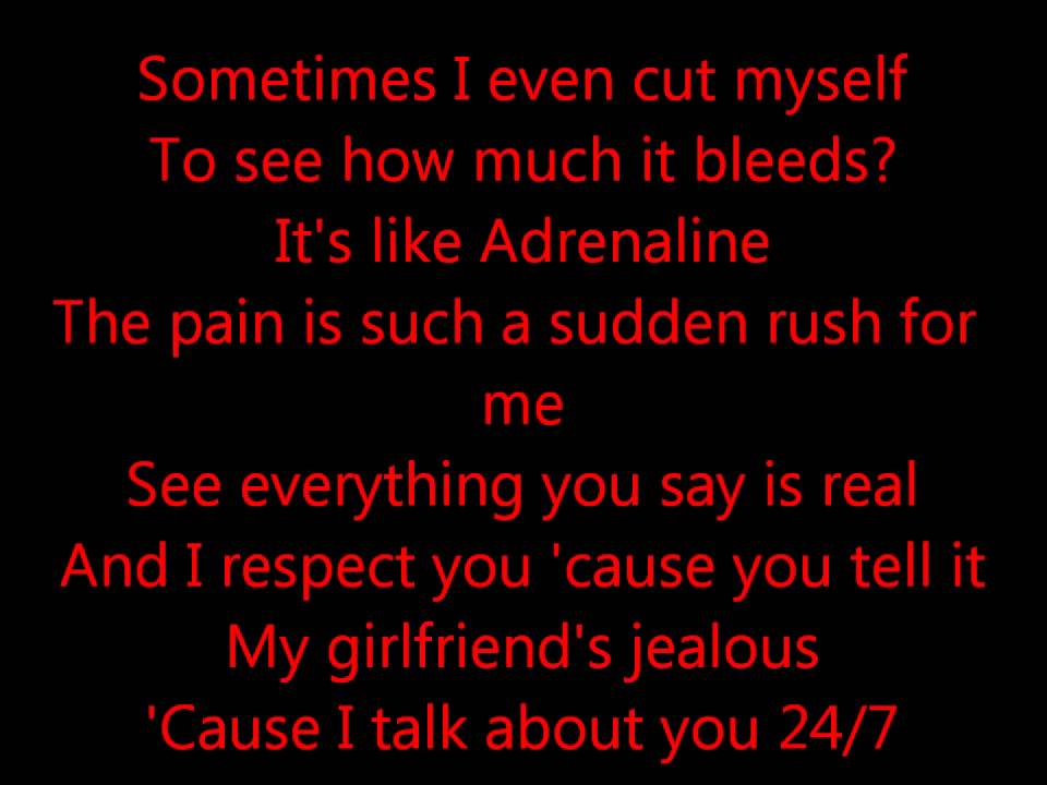 Lyric i m not afraid eminem lyrics : Eminem - Stan lyrics - YouTube