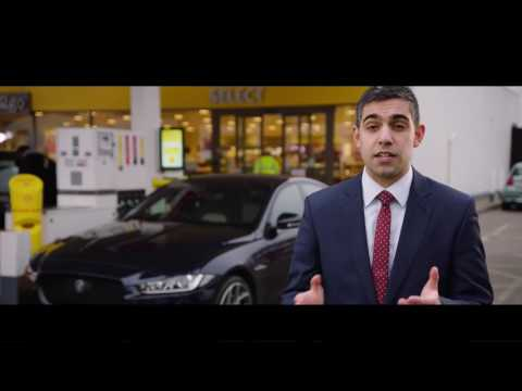 Jaguar and Shell develop world first in-car cashless fuel payment