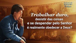 """Filme gospel 2019 """"Batismo de fogo"""" Trecho 1"""