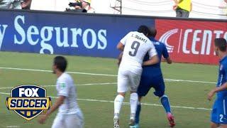 22nd Most Memorable FIFA World Cup Moment: Suarez bites Chiellini | FOX SOCCER