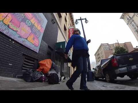 Walk #17 - Frightening San Francisco Tenderloin Deep Tour (2019) - Dog Walk View #dogwatchtv