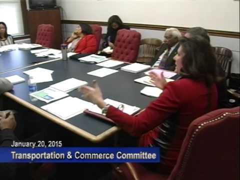 Transportation & Commerce Jan 20 2015 Committee Meeting