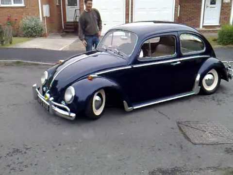 Classic lowered VW - YouTube