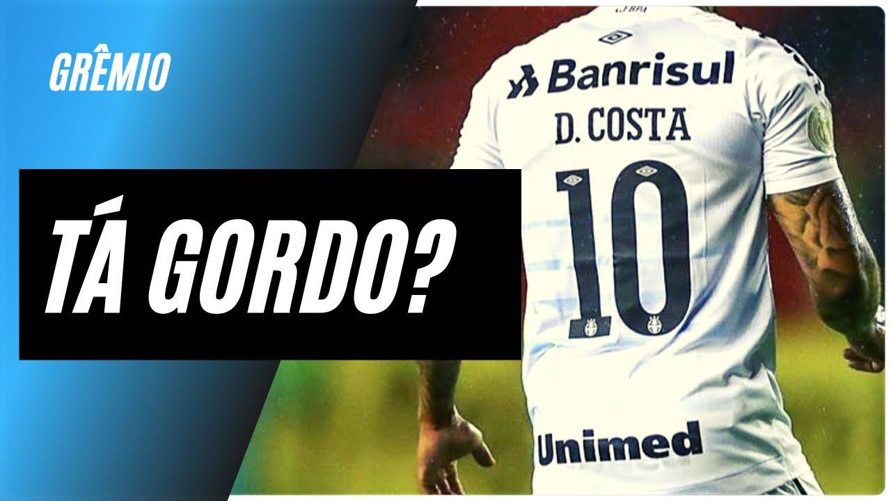 """Douglas Costa tá gordo? / Preparador explica: """"Camisa branca e chuva"""" / Prazo para afinar / Titular?"""
