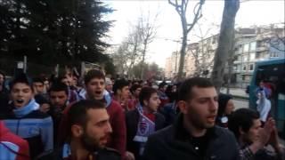 Trabzonspor ( Gurbetçi Gençler ) - Bursaspor Deplasman Yürüyüşü