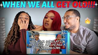Kyle Exum 'When Our Generation Gets Old and Hears a Throwback Song 4' REACTION!!!