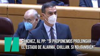 Sánchez, al PP: