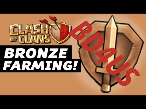Clash of Clans| Best farming attacks for all Town Hall| BIG  Hidden loots in Bronze League