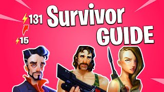 How To Get SURVIVORS in Fortnite Save The World Survivor Guide | How To Increase Power Level