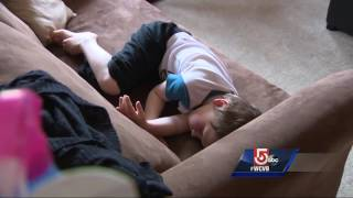 Boy home, father arrested after child found wandering