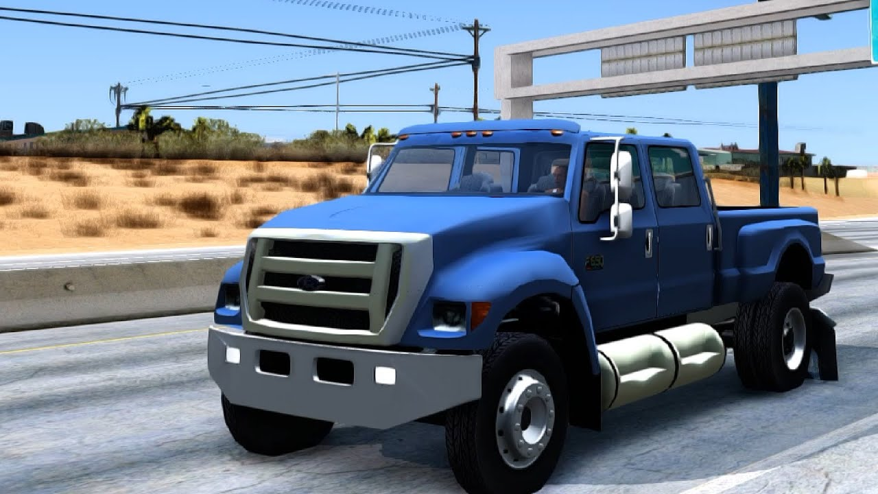 ford f 650 gta san andreas youtube. Black Bedroom Furniture Sets. Home Design Ideas