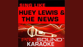 Little Bitty Pretty One (Karaoke with Background Vocals) (In the Style of Huey Lewis)