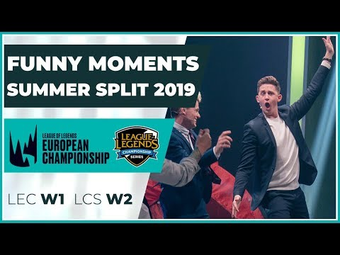 Funny Moments - LCS week 2 & LEC week 1 - Summer Split 2019