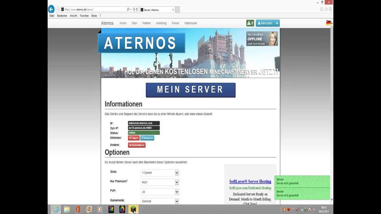 Tutorial Kostenlos Server Erstellen Ohne Download Minecraft - Minecraft server erstellen ohne download