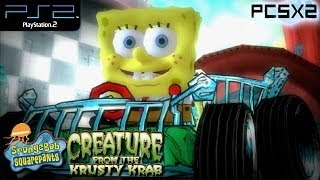 SpongeBob SquarePants: Creature From The Krusty Krab - PS2 Gameplay SD + FXAA (PCSX2)