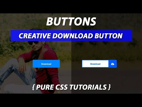 Creative Download Button Using Pure CSS By VRPawar  Plz SUBSCRIBE My Channels for the Daily Videos