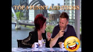 TOP 5 FUNNY AUDITIONS!!