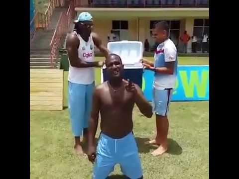 Chris Gayle, Yuvraj Singh, Kevin Pietersen takes ALS Ice Bucket Challenge