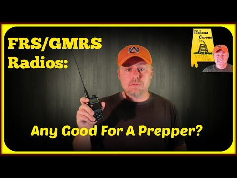 Comms: FRS/GMRS Radios - Any Good for a Prepper?