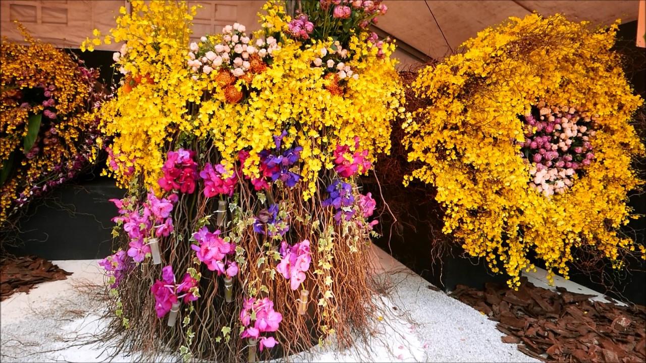 香港花卉展2017 - YouTube