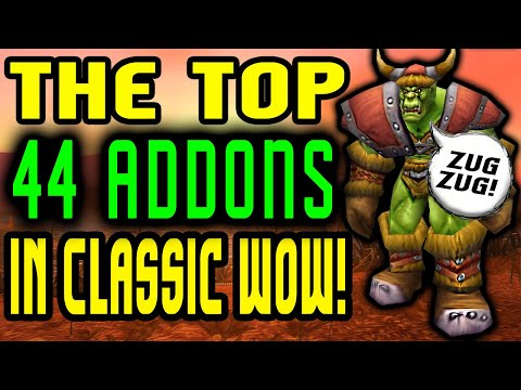 Top 44 Addons Available In Classic WoW!