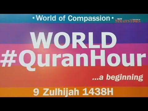 World, Merdeka #QuranHour begins; thousands to take part