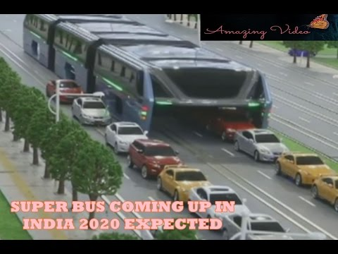 auto bus transportation on  road less traffic jam (SUPER BUS COMING SOON IN INDIA)