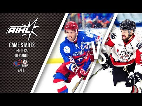 AIHL Live Game 87: Sydney Bears @ Newcastle Northstars (30/07/2017)