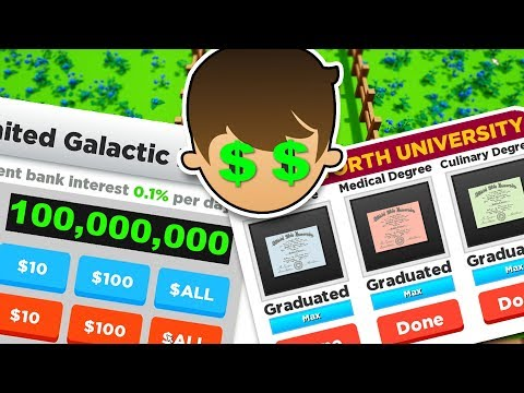 Got 3 Degrees And Made 100 Million Dollars In Super Life RPG
